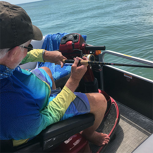 Armchair Anglers Wheelchair Accessible Boating